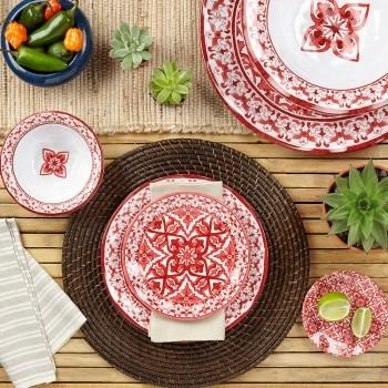 Talavera in Roja Melamine collection with 6 products