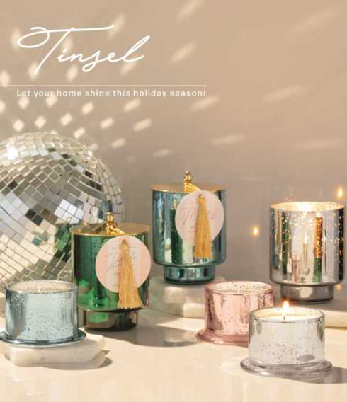 Tinsel collection with 2 products