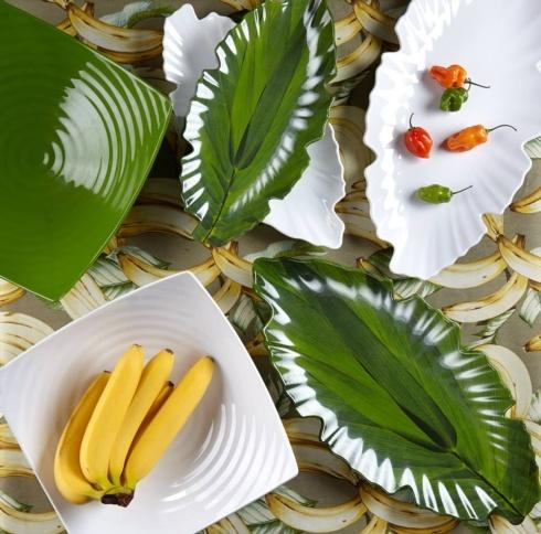 Zen Melamine Serving Pieces collection with 6 products
