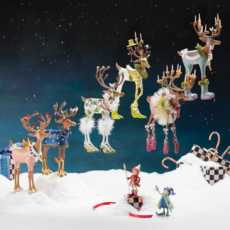 Dash Away Reindeer Figures collection