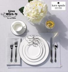 Belle Boulevard Dinnerware collection with 15 products