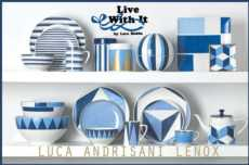 Luca Andrisani Blue Azzurro collection with 28 products
