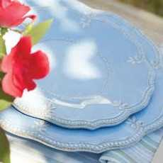 French Perle Melamine collection with 18 products