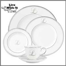 Federal Platinum Monogram Script Dinnerware Collection collection with 289 products