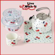 Vintage Cherry Dot collection with 5 products