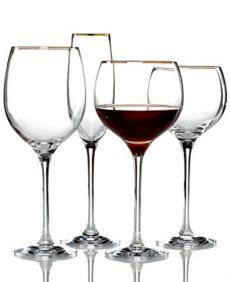 Eternal Gold Stemware collection with 4 products