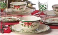 Holiday Melamine collection with 10 products