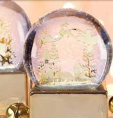 Let It Snow Musical Snowglobes collection with 1 products