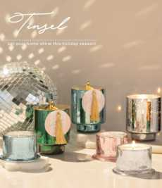 Tinsel collection with 3 products