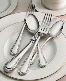 Venetian Lace Flatware collection with 4 products