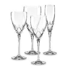 Venetian Lace Stemware collection with 4 products