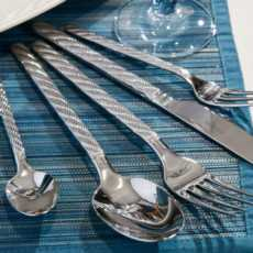 Montauk Flatware collection with 5 products