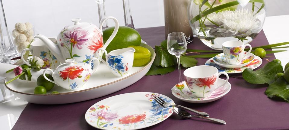 Villeroy boch anmut flowers products - Villeroy and bosh ...