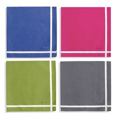 Two-colored Napkins - BEAUVILLÉ collection with 17 products