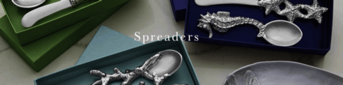 Spreaders collection with 16 products