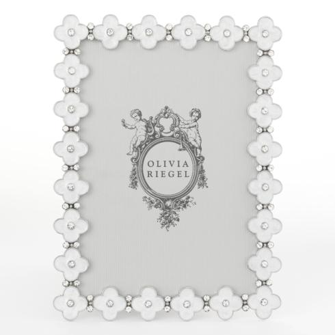 White Enamel Clover collection with 4 products