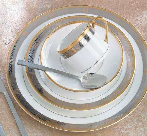 $375.00 Luxor 5 Piece Place Setting