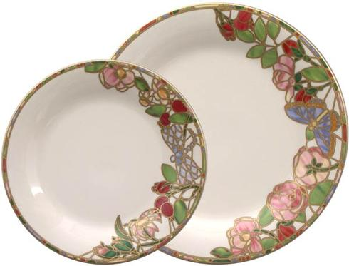 $79.00 Seasons of a Rose-Summer Dinner Plate