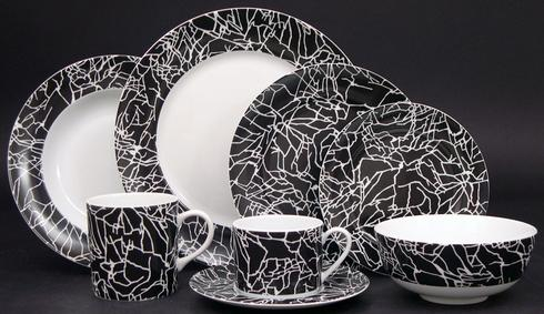 Kelly Wearstler Tracery White on Black collection with 9 products