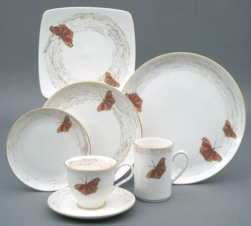 $290.00 Wind & Wings 1-Buckeye 5 Pc Place Setting