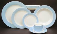 Pickard China ColorBurst Blue-Plain Butter Plate