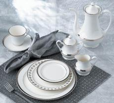 High Point Platinum 5 Piece Place Setting