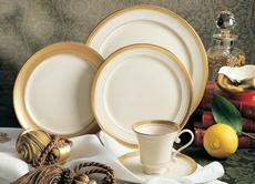 Palace White 5 Piece Place Setting