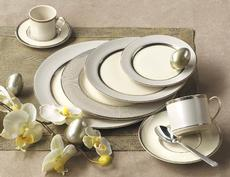 Platinum Radiance Accent Salad Plate
