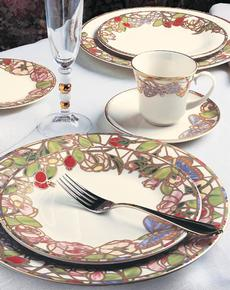 Seasons of a Rose 5 Piece Place Setting