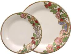 Seasons of a Rose-Summer Dinner Plate