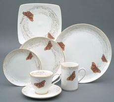 Wind & Wings 1-Buckeye 5 Pc Place Setting