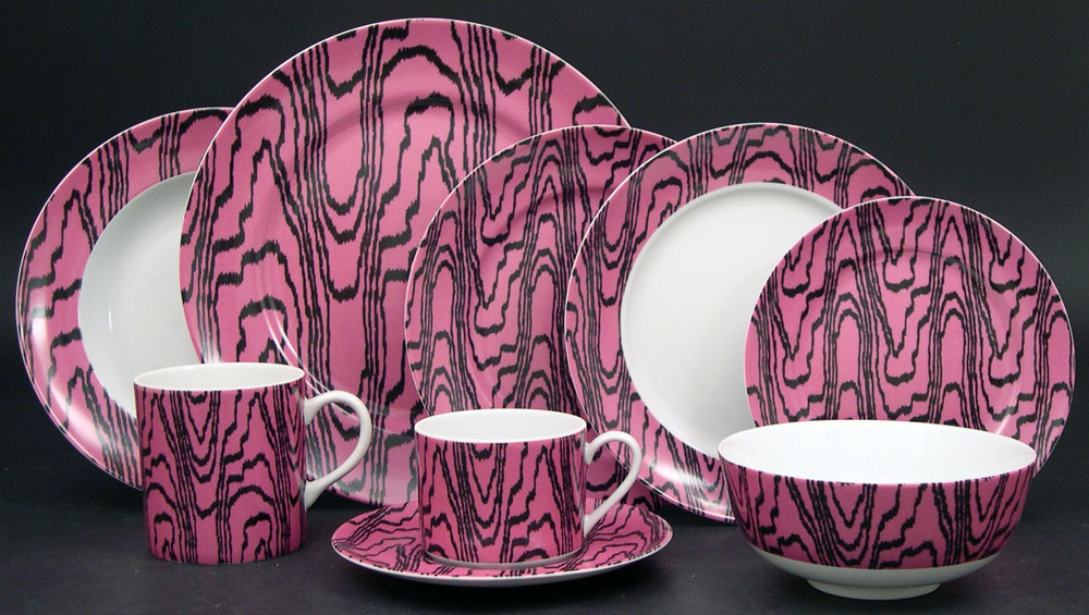 Lifestyle image 1 for Kelly Wearstler Marquetry Fuchsia