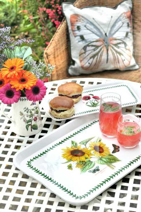 Botanic Garden Melamine collection with 4 products