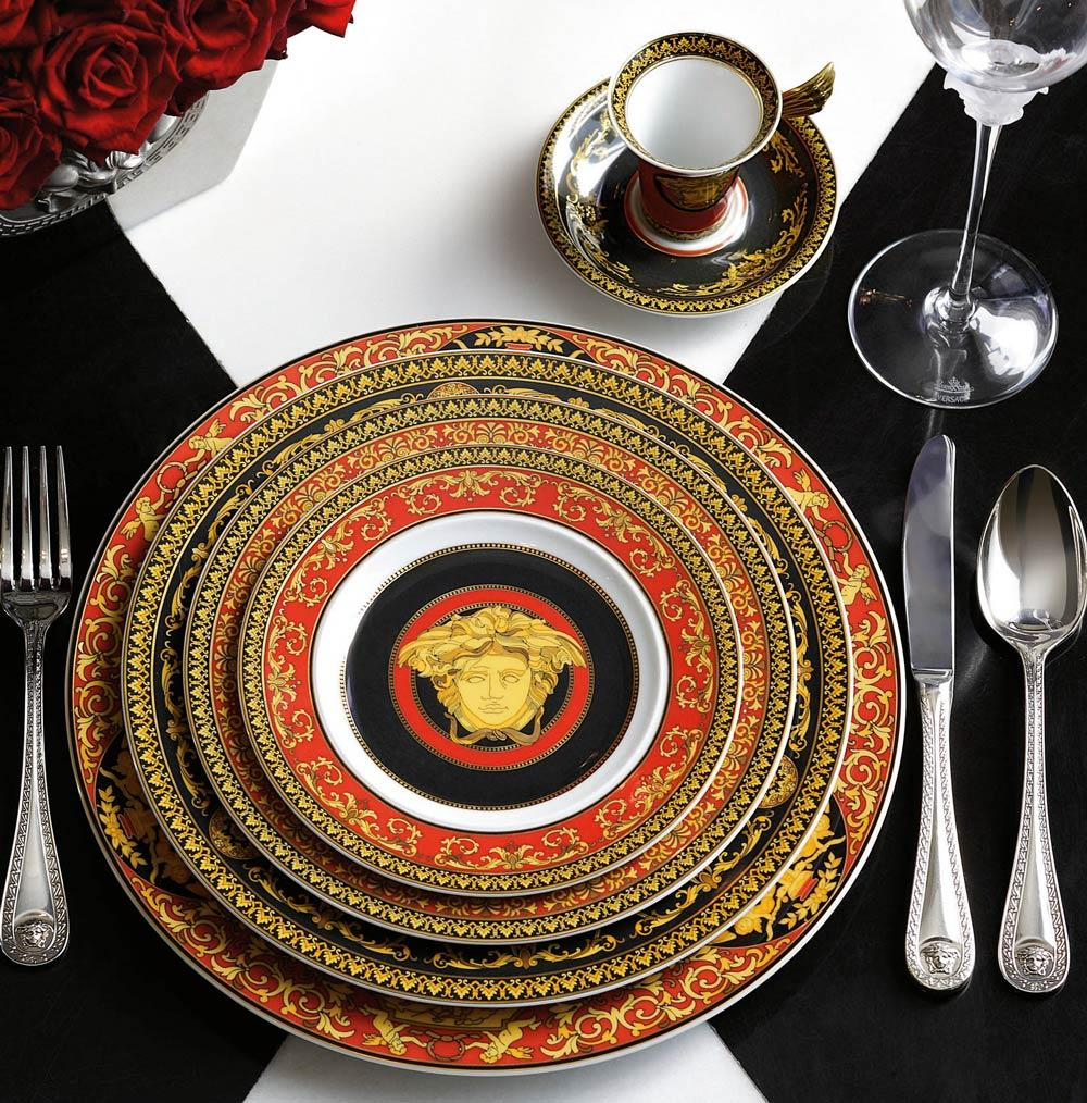 Versace By Rosenthal Medusa Red Products