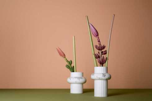 Ode Floral Ornaments collection with 4 products