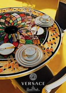 Medusa D'or Dinnerware collection