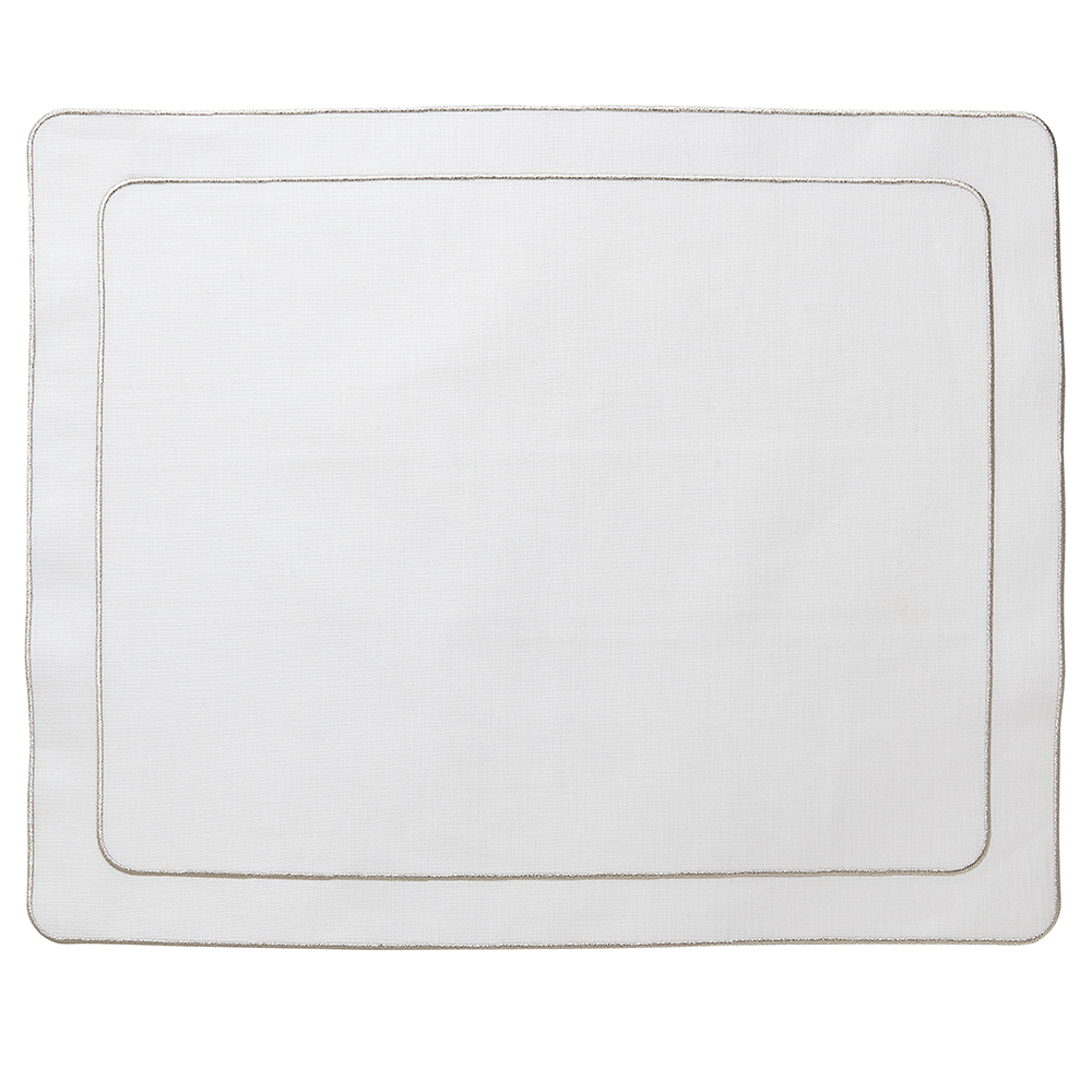 Lifestyle image 1 for Linho Simple Rectangular Placemats