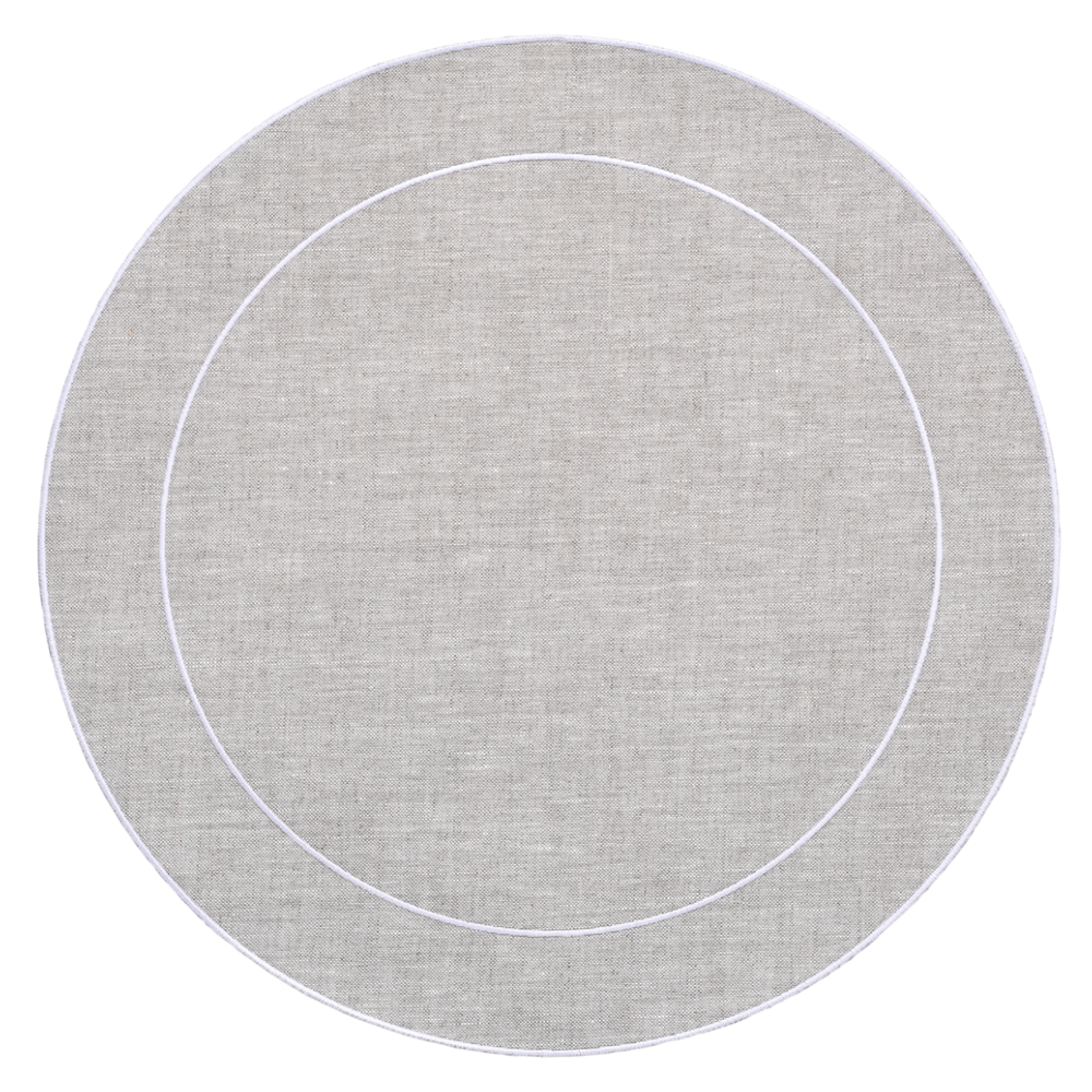 Lifestyle image 1 for Linho Simple Round Placemats