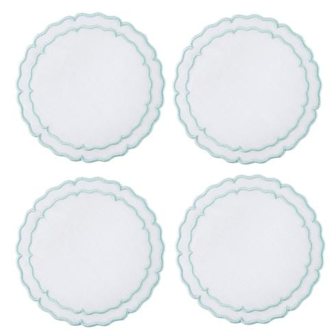 Lifestyle image 2 for Linho Scalloped Round Coasters