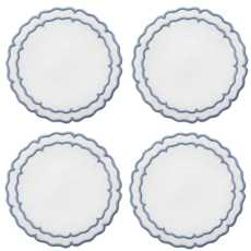 Linho Scalloped Round Coasters collection with 10 products