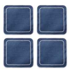 Linho Simple Square Coasters