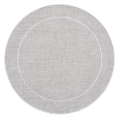 Linho Simple Round Placemats collection with 10 products