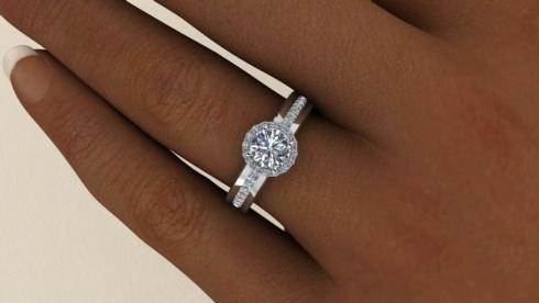 DIAMOND ENGAGEMENT RINGS collection with 24 products
