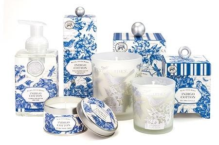 Indigo Cotton collection with 11 products