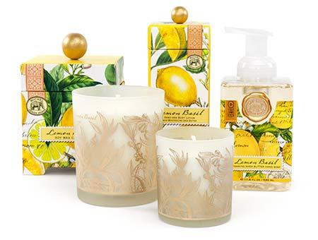 Lemon Basil collection with 4 products