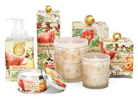 Morning Blossoms collection with 3 products