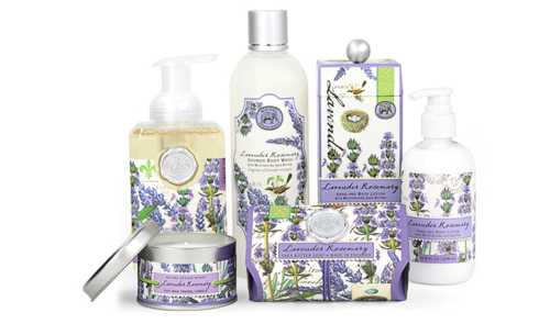 LAVENDER ROSEMARY collection with 5 products