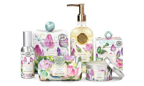 WATER LILIES collection with 6 products