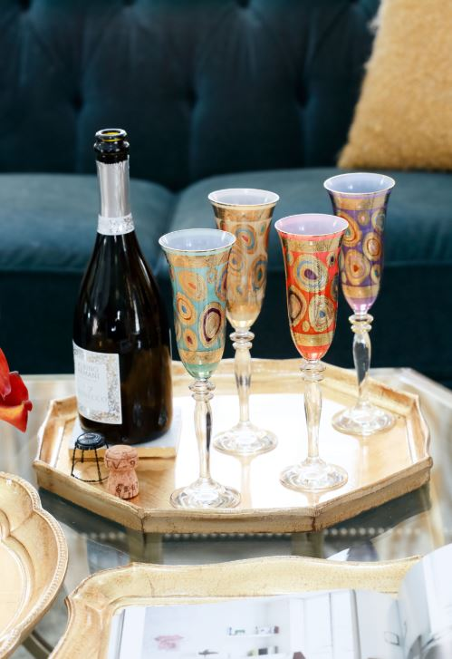Lifestyle image 1 for Florentine Wooden Accessories Gold