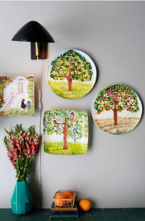 Wall Plate collection with 5 products